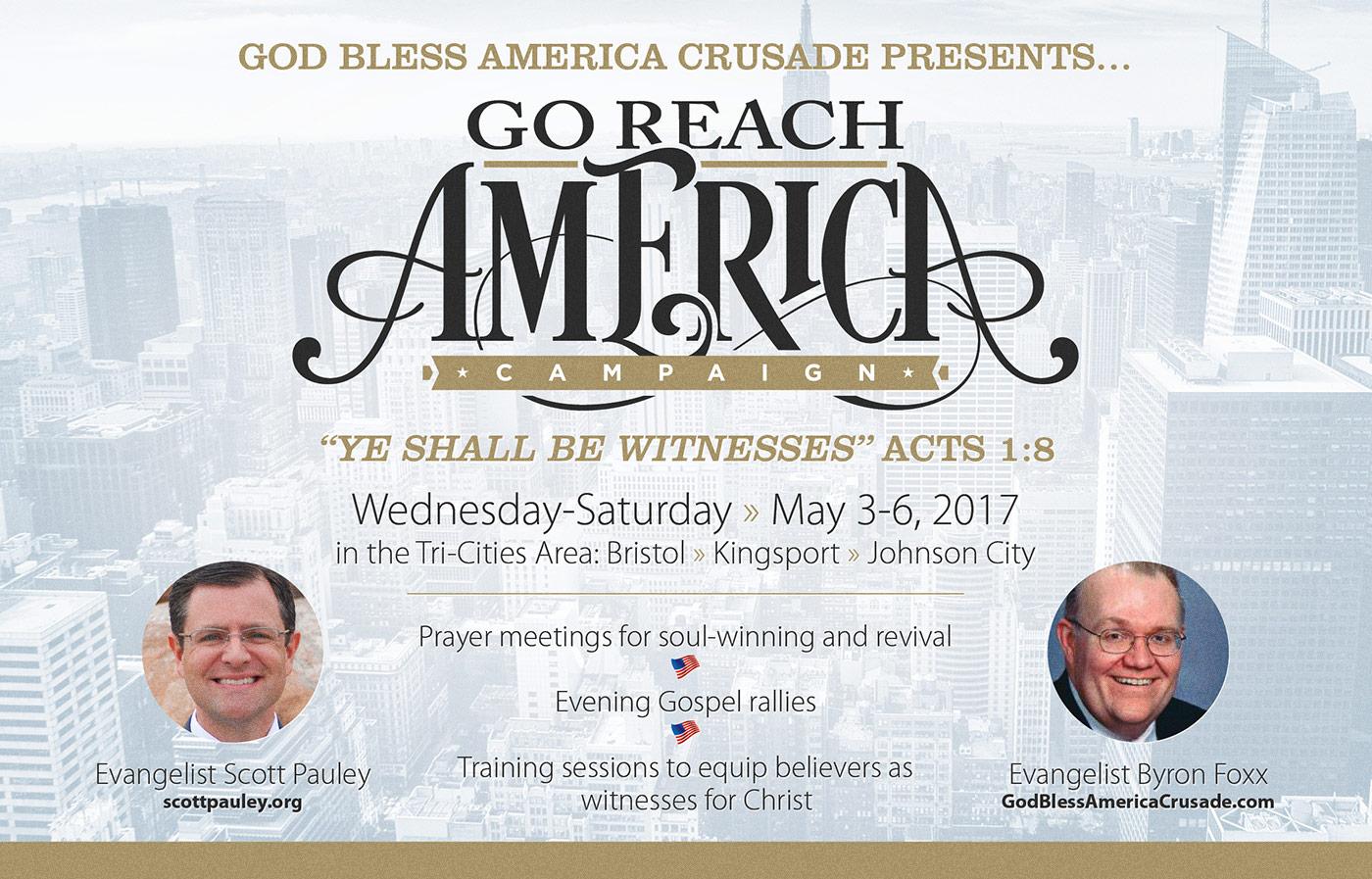 Go Reach America Slide