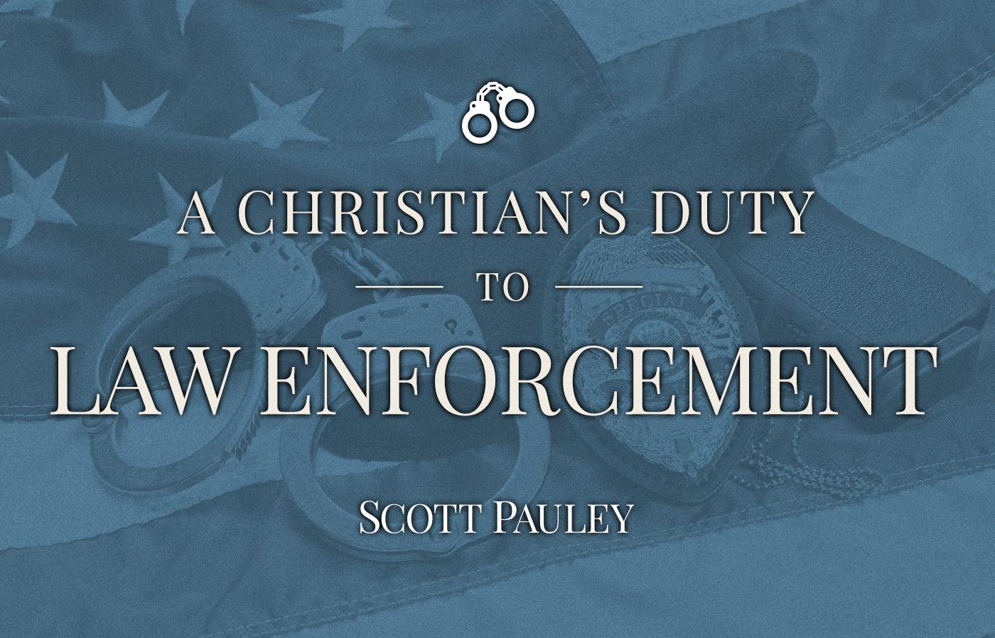 Law Enforcement Slide