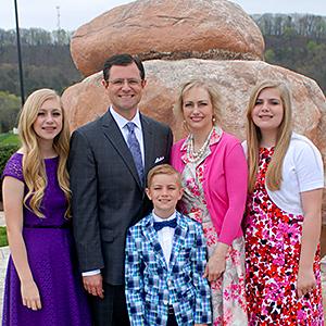 Scott Pauley family