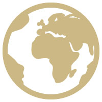 gospel icon globe world