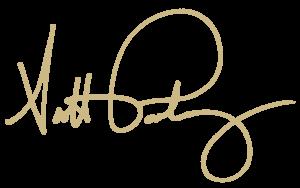 Scott Pauley signature gold