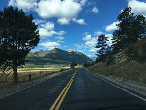 A Quiet Drive through the Rocky Mountains
