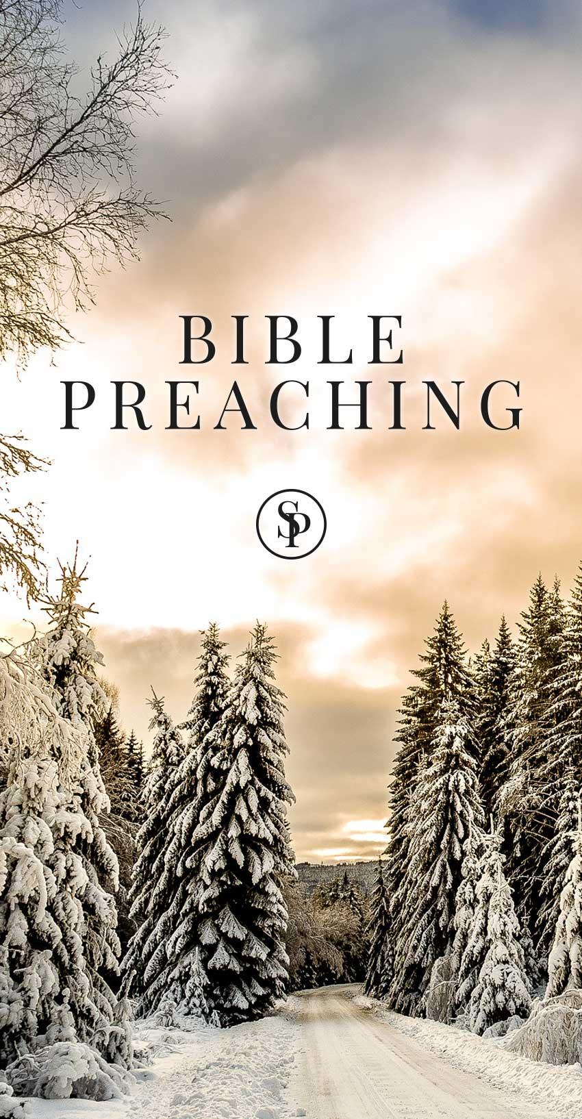 Scott Pauley Bible Preaching Banner